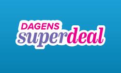 Dagens SuperdealSuperDeals är superbra resefynd till dig som är supersnabb!