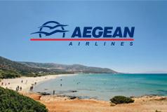 Edullisesti Kreikkaan!Kreikan upeille saarille edullisesti Aegean Airlinesilla! Tarjous voimassa 31.12. asti.