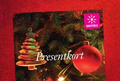 Ge bort ett presentkort i julklapp - få ett själv!Sembo har presentkort som passar alla på din julklappslista. Ge bort ett presentkort och få ett presentkort själv!