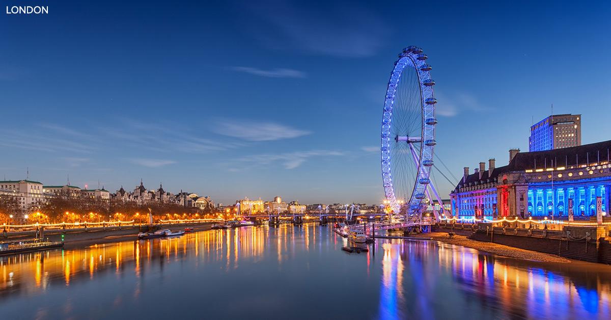 Hold weekend i LondonEn resa till London bjuder på shopping, sightseeing, museum, fotboll, prisvärda restauranger och ett fantastiskt nöjesliv. Boka din oförglömliga London weekend hos DTF.