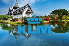 Vår- og forsommerreiserKampanjepriser på flybilletter med KLM og Air France til mange, eksotiske steder.