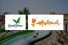Center Parcs - Barnens HollandFamiljevänliga semesterbyar med inomhus vattenparker, stränder och många aktiviteter.