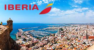 Spania med IberiaKnallpriser på fly og opphold i Spania med Iberia. Reis til Madrid, Ibiza eller Alicante