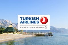 Til varmen med Turkish AirlinesSpennende reisemål med sol og varme, storbyer og opplevelser.