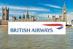 Reis til Storbritannia og Irland med British Airways!Supre priser på fly + overnatting i London, Edinburgh, Manchester og mange fler!  Pass på nå når det er kampanjepriser på flybilletter.