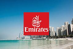 Erbjudanden från Emirates Res till värmen med fantastiska erbjudanden från Emirates och Sembo.