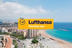 Sommertilbud fra LufthansaReis til spennende steder og varme byer med Lufthansa! Kampanjepriser på fly+overnatting i Barcelona, Malta, Nice og flere!