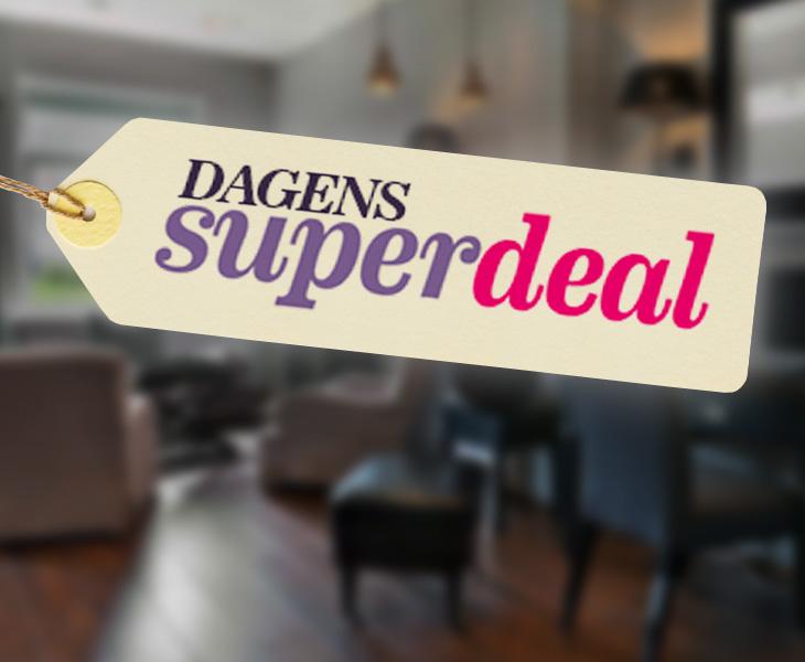 Dagens Superdeal Superdeals er superbra reisekupp til deg som er superrask!