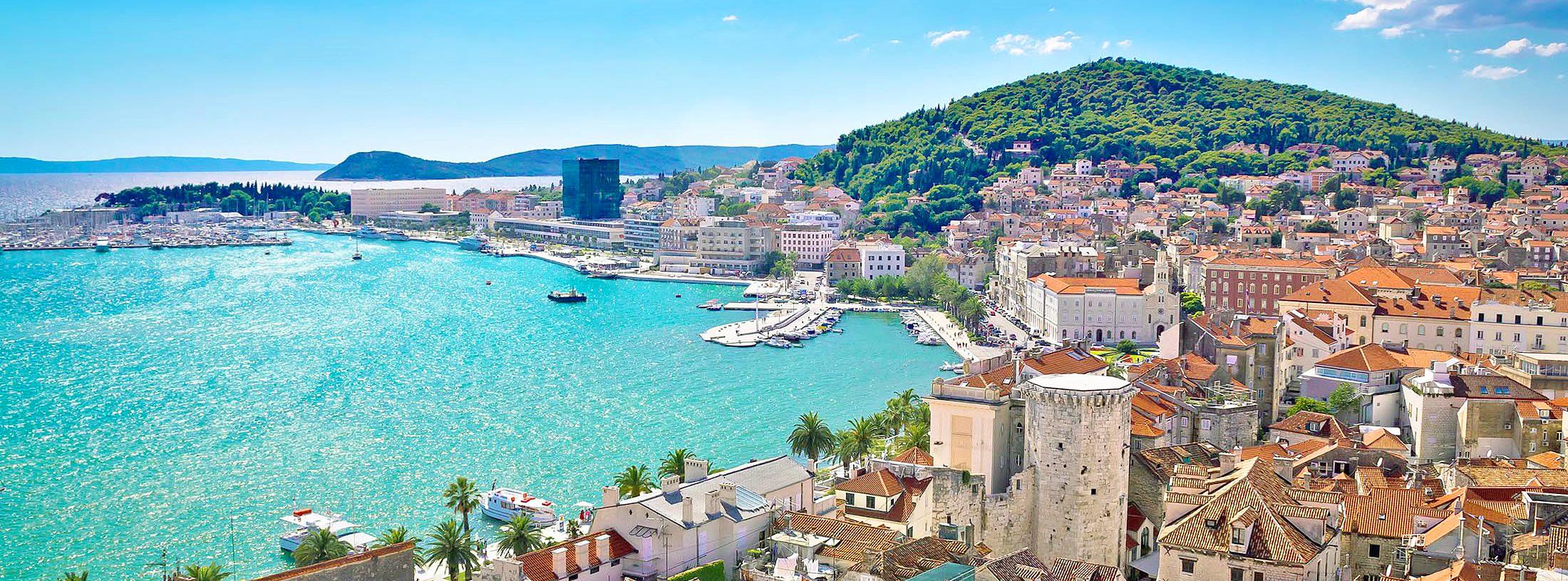 KroatiaSplit, Pula, Brac, Rovinj, Makarskan Riviera jne.