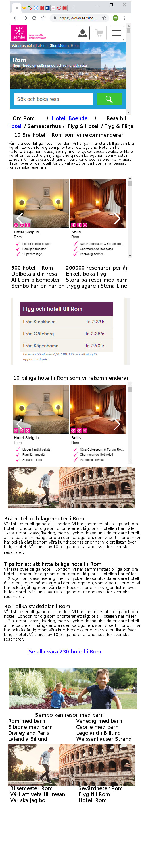 Ort -hotell -test 2