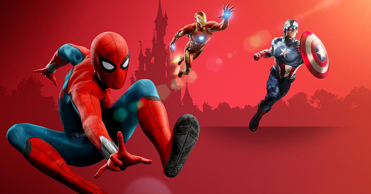Marvel season of Super Heroes - pågår 23/3 - 16/6Välkommen till en värld där Iron Man, Star Lord och alla de andra sprider spänning på Disneyland® Paris!