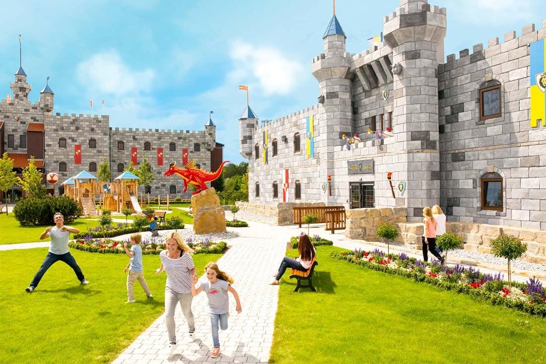 LEGOLAND® Castle Hotel ****Åpner i juni 2019 og har perfekt beliggenhet til LEGOLAND® Park.