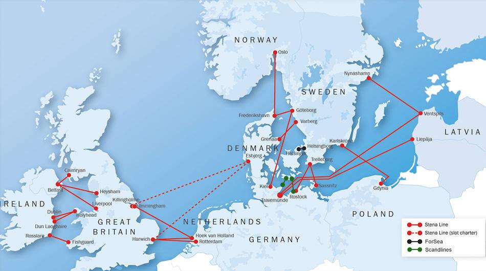 färja från göteborg till tyskland med bil