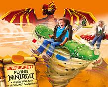 LEGOLAND® TysklandTag dit første kørekort i Lego City eller oplev de 40 attraktioner som f.eks. Knight´s Kingdom - ridderlandet, Miniland og eventyrlandet. Her findes også dukketeater, klovne, 4-D film og meget mere. Åbningstider: Marts til og med oktober.