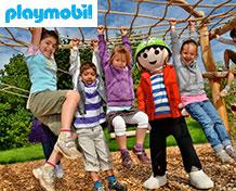 Playmobil FunparkStor velholdt familiepark under temaet Playmobil. Dette er paradis for alle børn som elsker Playmobils figurer. Åbningstider:Hele året.