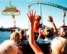 Gröna Lund Stockholms største fornøyelsespark med Sveriges eldste tivoli med karuseller og konserter. Åpningstider: april - september.