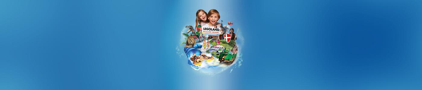 Få rabatt när du bokar boende och färja samtidigtUpplev kanske sommarens roligaste resa till LEGOLAND® Billund Resort