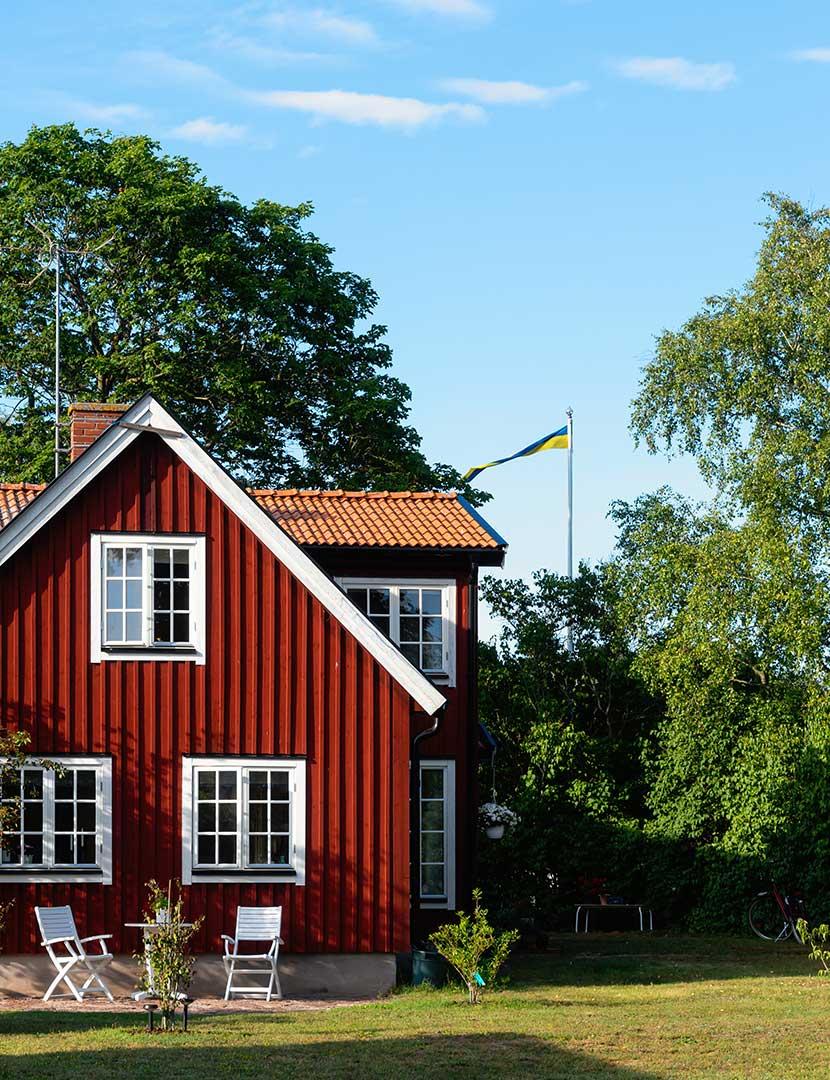 Semesterhus i SverigeFr. 2.778:-/7 nätter & 4 pers