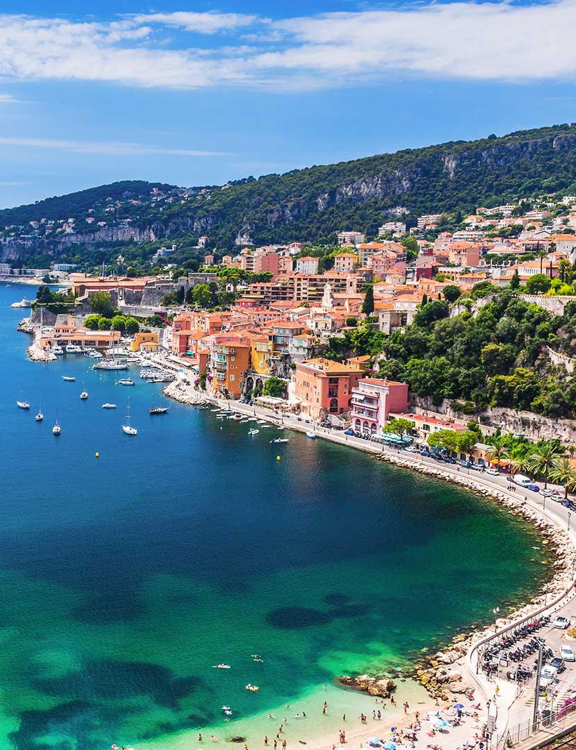 Den Franske RivieraOplev Rivieraen med op til 20% rabat