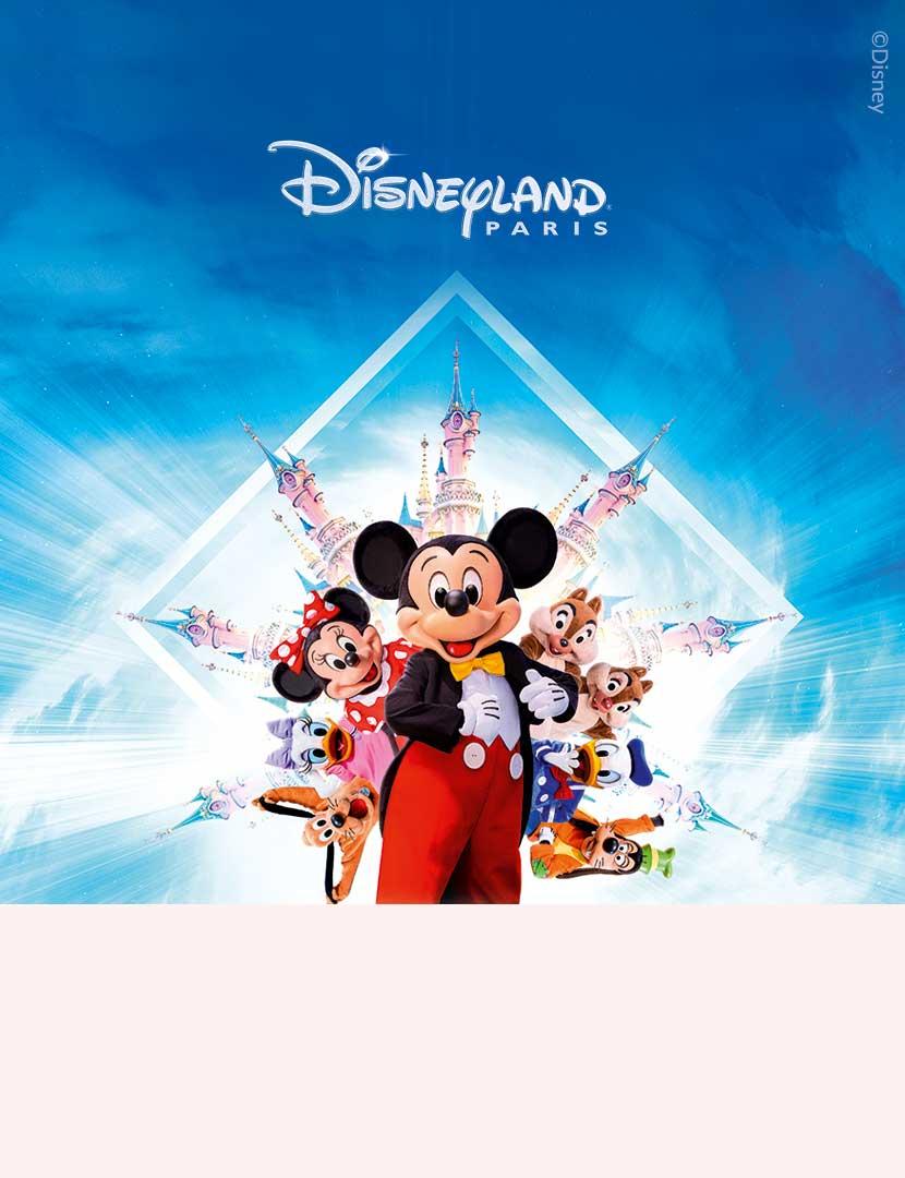Res till Disneyland® ParisFr. 1.558:-/2 nätter & 2 pers