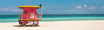 Florida - liidunvalkeita hiekkarantoja...
