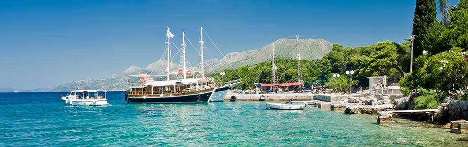 KroatienFlera huvudstäder längs vägen.