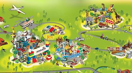 karta över lalandia billund Lalandia Billund Resort   28 Grader i VattÅret Om karta över lalandia billund