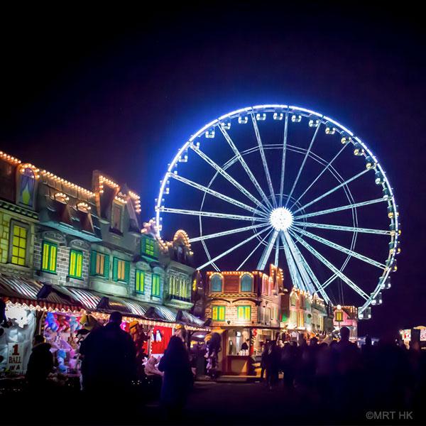 Lontoon metropoliLontoon lukemattomista joulumarkkinoista suurin ja tunnetuin on Winter Wonderland Hyde Parkissa. Joulu Hyde Parkissa: 18/11 - 2/1