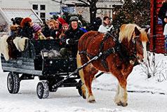 OsloKoe Oslon jaHadeland Glassverkin joulutunnelma. JouluHadeland Glassverkissä: 1/11 - 20/12